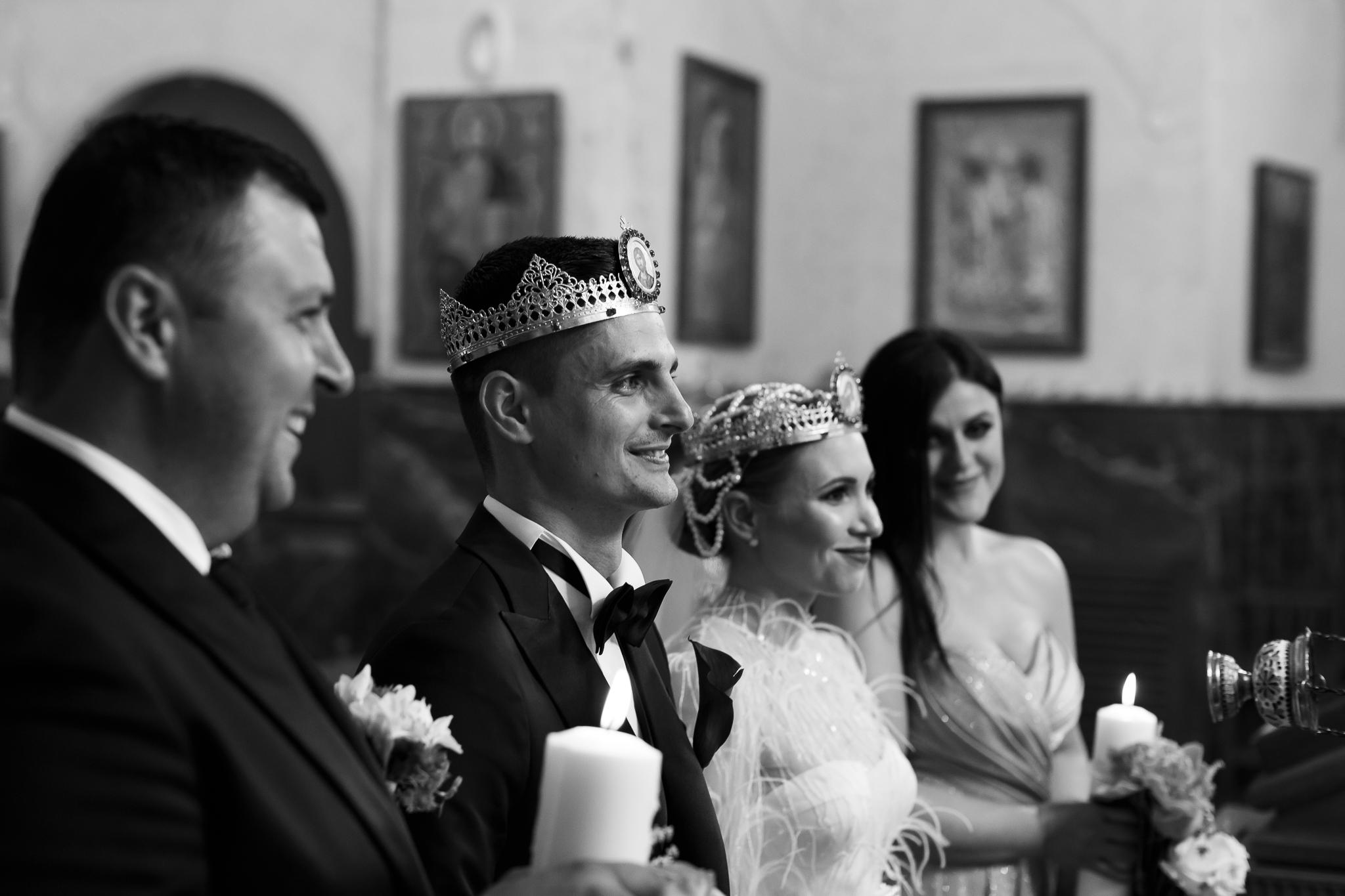 fotografii de nunta la biserica